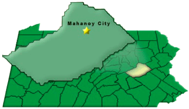 Blaschak Coal Corp is located in Mahanoy City, PA